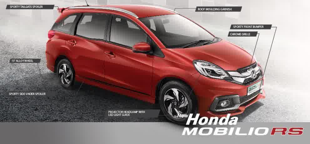 new honda mobilio RS