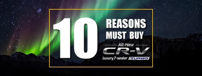 10 alasan mengapa anda harus membeli CRV Turbo
